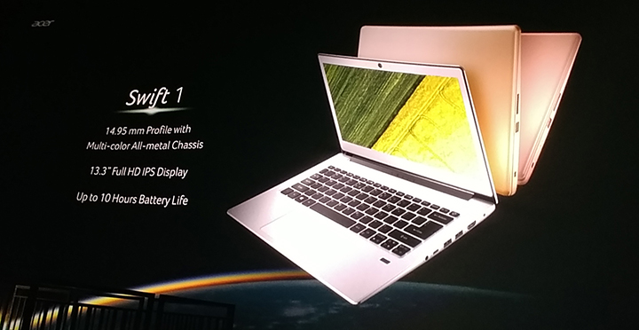 Acer Swift 1 and Swift 3 announced - YugaTech | Philippines Tech