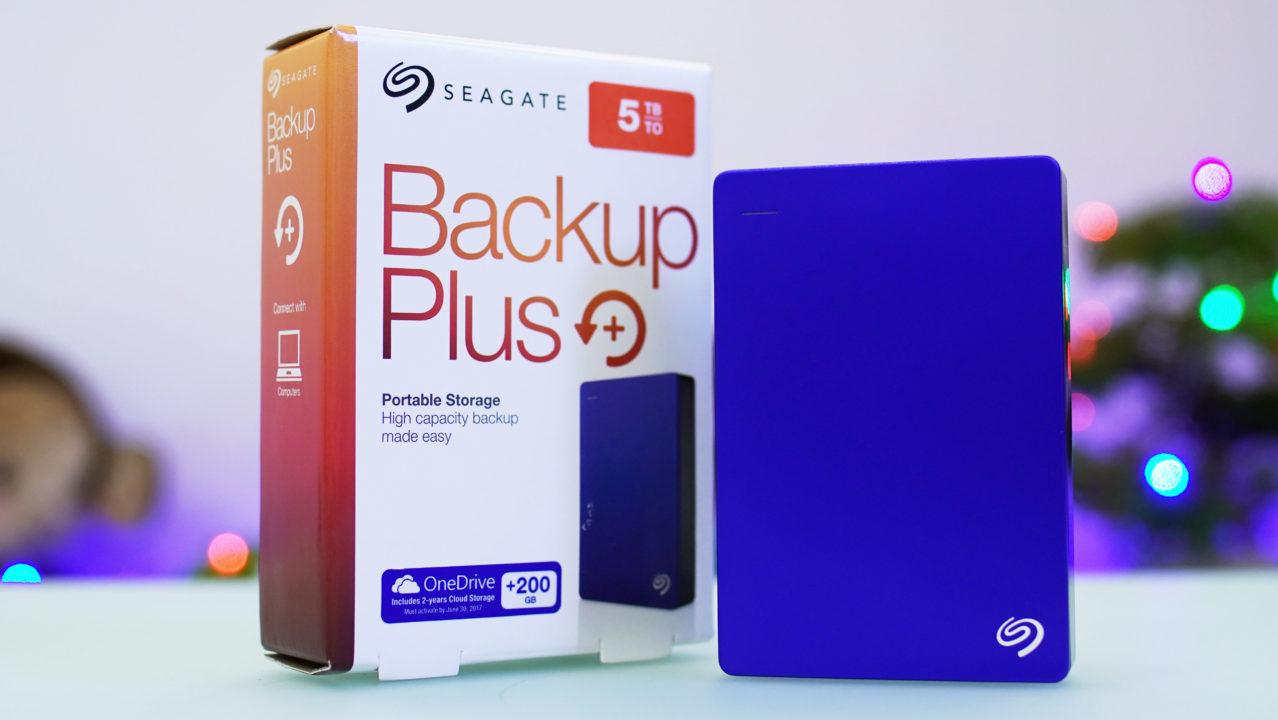 Seagate Backup Plus 5TB Portable Hard Drive Quick Review - YugaTech