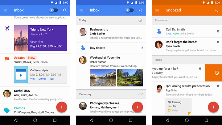 android email apps