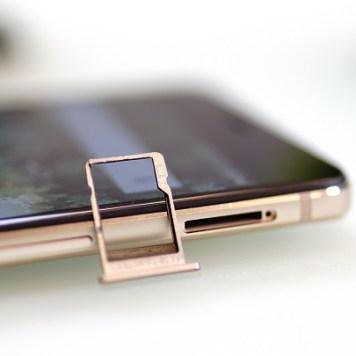 Infinix note 4 Pro microSD tray