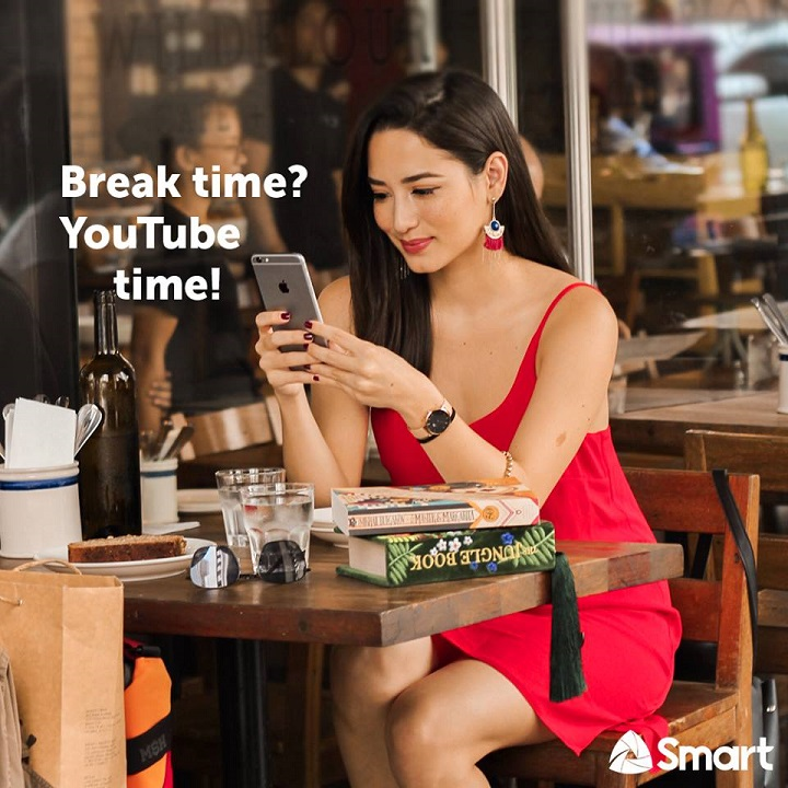 Smart offers unlimited YouTube for an hour at Php10