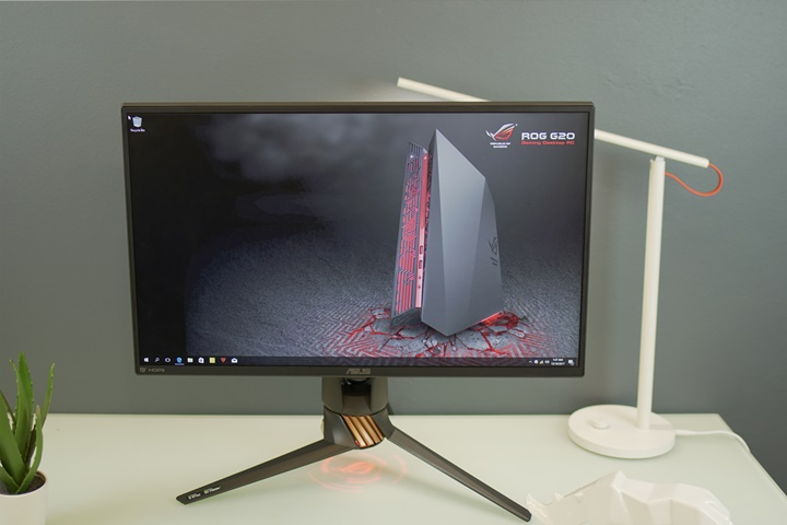 ASUS ROG Swift PG258Q Gaming Monitor Quick Review - YugaTech