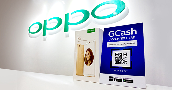 GCash Scan-to-Pay now available at OPPO stores - YugaTech