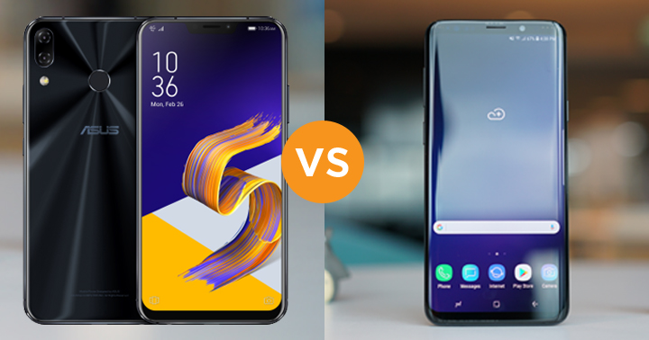 Specs Comparison: ASUS ZenFone 5Z vs Samsung Galaxy S9+