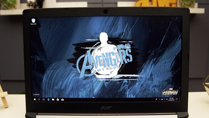 Acer Aspire 6 Captain America Edition hands-on, first