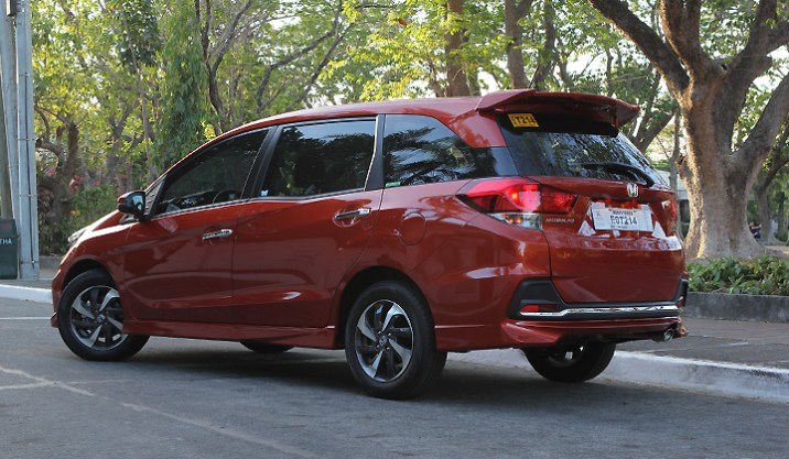 mobilio rs rear side