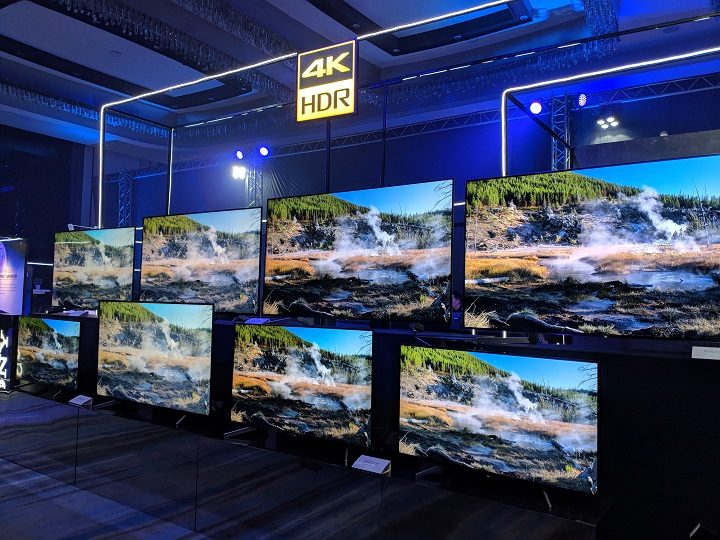 Sony launches 2018 BRAVIA OLED and LED 4K HDR TV Series in the