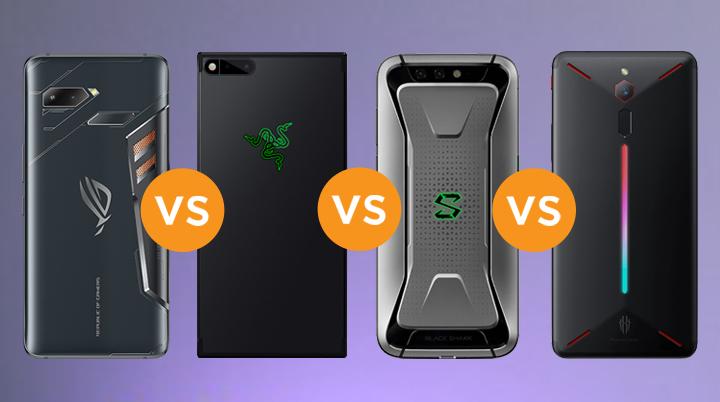 Specs Comparison: ROG Phone vs Razer Phone vs Xiaomi Black