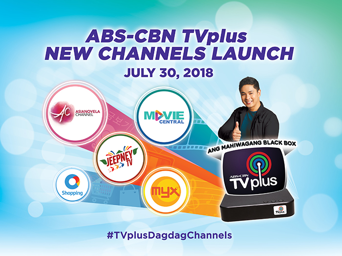 ABS-CBN TVplus gets new channels
