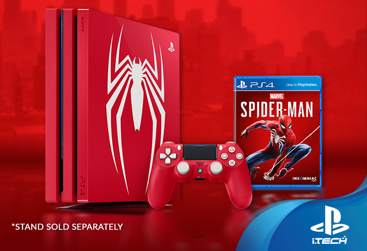limited edition marvels spider-man ps4 1tb