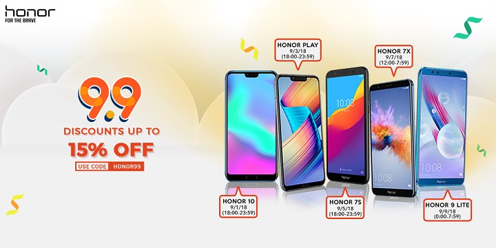 Honor Philippines holds sales promo on Shopee - YugaTech