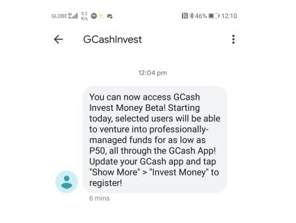 GCash Invest Money Beta rolls out to select customers