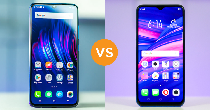 VIVO V11 vs OPPO F9 specs comparison - YugaTech