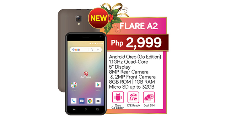 Cherry Mobile Flare A2: LTE Phone for Php3K - YugaTech | Philippines
