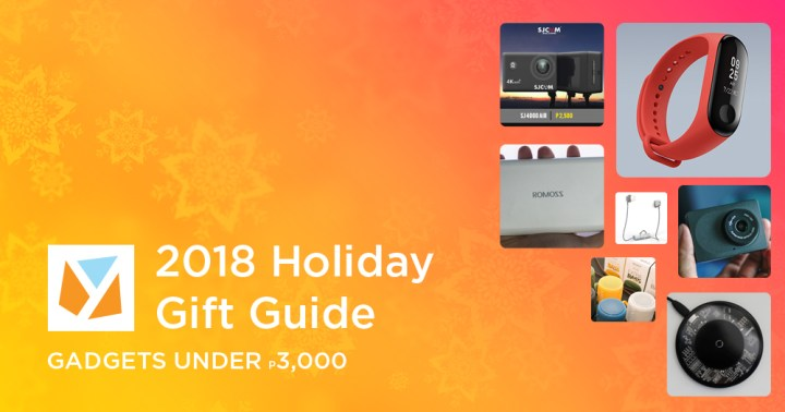 Holiday Gift Guide 2018 Gadgets Gift Ideas Under 3k Yugatech Philippines Tech News Reviews