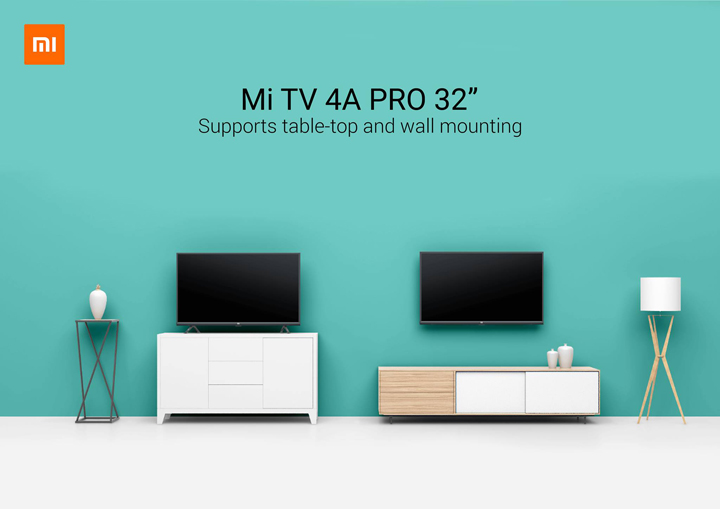 Xiaomi Mi TV 4A Pro smart TV now available at Mi Stores