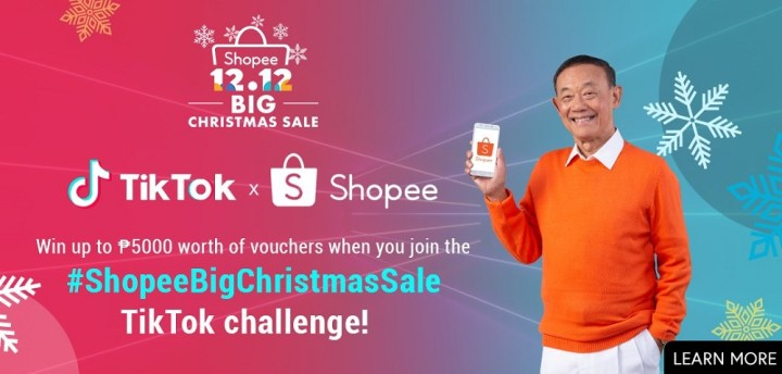 TikTok, Shopee partner for the 12 12 Big Christmas Sale