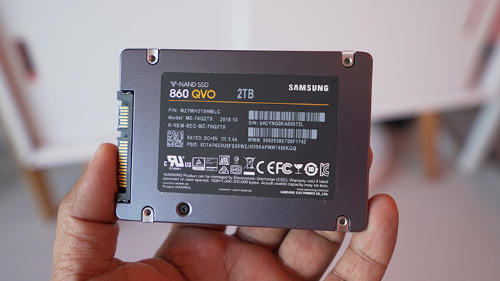 Samsung 860 QVO 2TB SSD Hands-On and Benchmarks - YugaTech