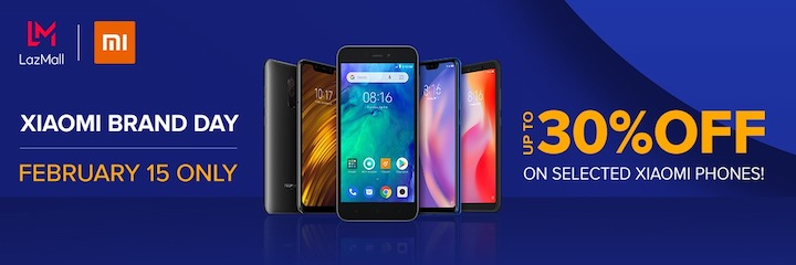 Xiaomi Brand Day on Lazada: Flash Sale up to 30% off