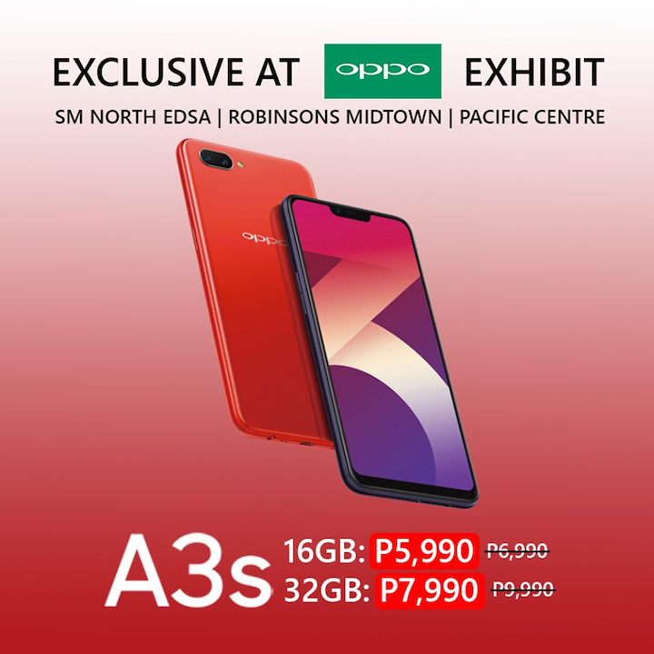 OPPO A3s gets price markdown in exclusive sale - YugaTech