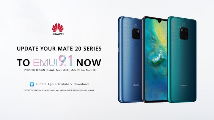 EMUI 9 1 for Huawei Mate 20 series now live - YugaTech