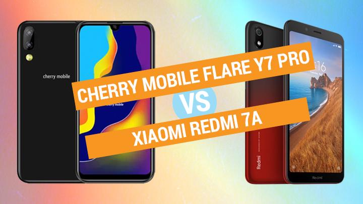 Cherry Mobile Flare Y7 Pro vs Xiaomi Redmi 7A Specs Comparison