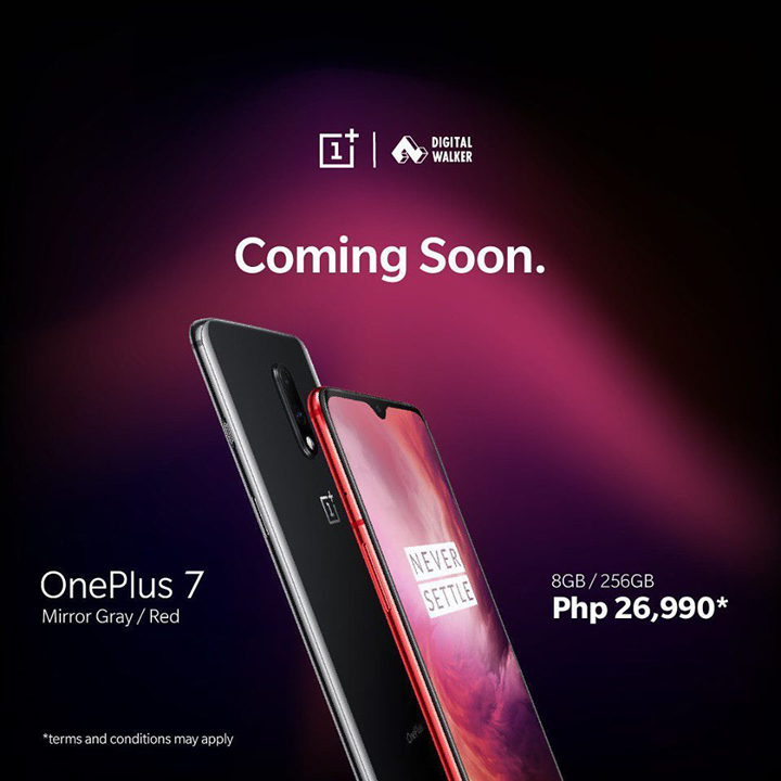 OnePlus 7 coming to the Philippines on August 7 - YugaTech