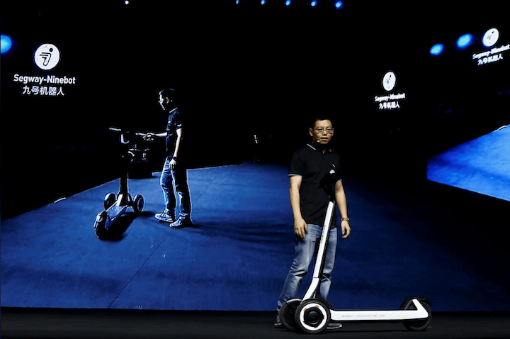 Segway-Ninebot unveils scooter that can return itself to its