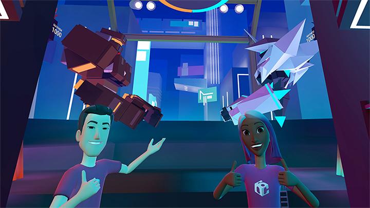 Facebooks Social VR Platform Spaces Debuts First Mini