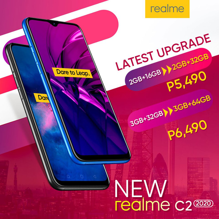 Realme C2 2020 launched in the Philippines, priced