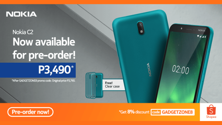 Nokia C2 gets a discounted price on Shopee 6.6. Super Flash Sale ...