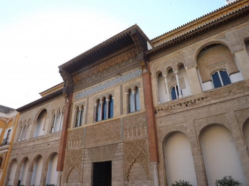 Visita alc zar de sevilla cuarto real alto conociendo for Cuarto real alcazar sevilla