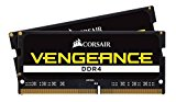 CORSAIR CMSX32GX4M2A2400C16 Vengeance 32GB (2x16GB) 260-Pin DDR4 SO-DIMM DDR4 2400 (PC4 19200) Memory (Notebook Memory)