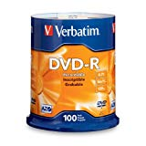 Verbatim DVD-R 4.7GB 16x AZO Recordable Media Disc - 100 Disc Spindle (FFP)