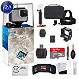 GoPro Hero 7 (White) Action Camera with GoPro Adventure Kit Essential Bundle