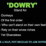 Gradual and Natural Rejection of Dowry in Society