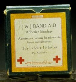 First Band-Aid Box
