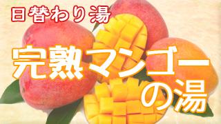 完熟マンゴーの湯