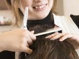 カットサロン髪切り処