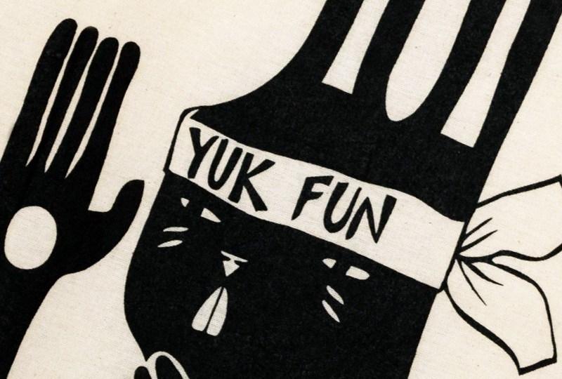 Kung fu bunny tote bag by YUK FUN