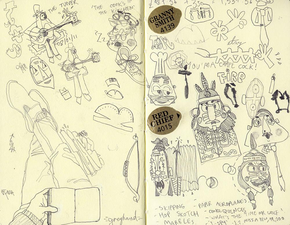 Tom sketchbook 2