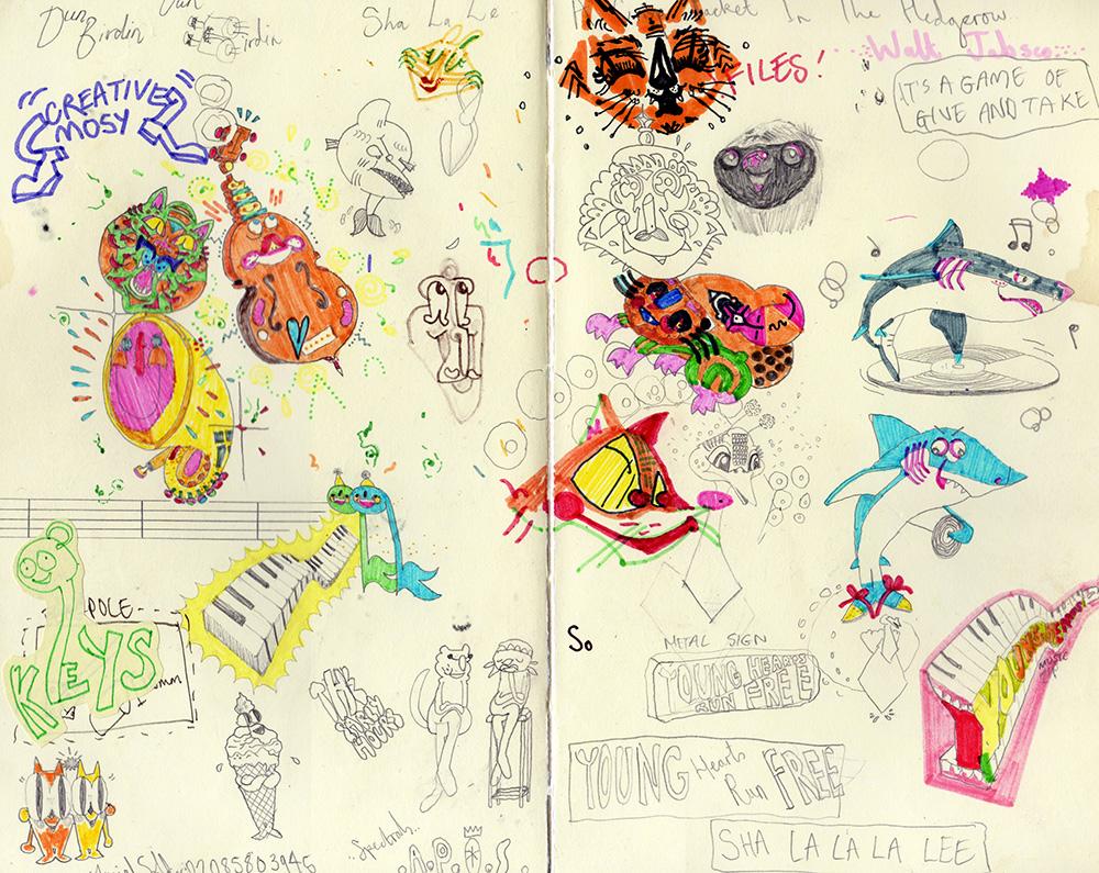 Tom sketchbook 5