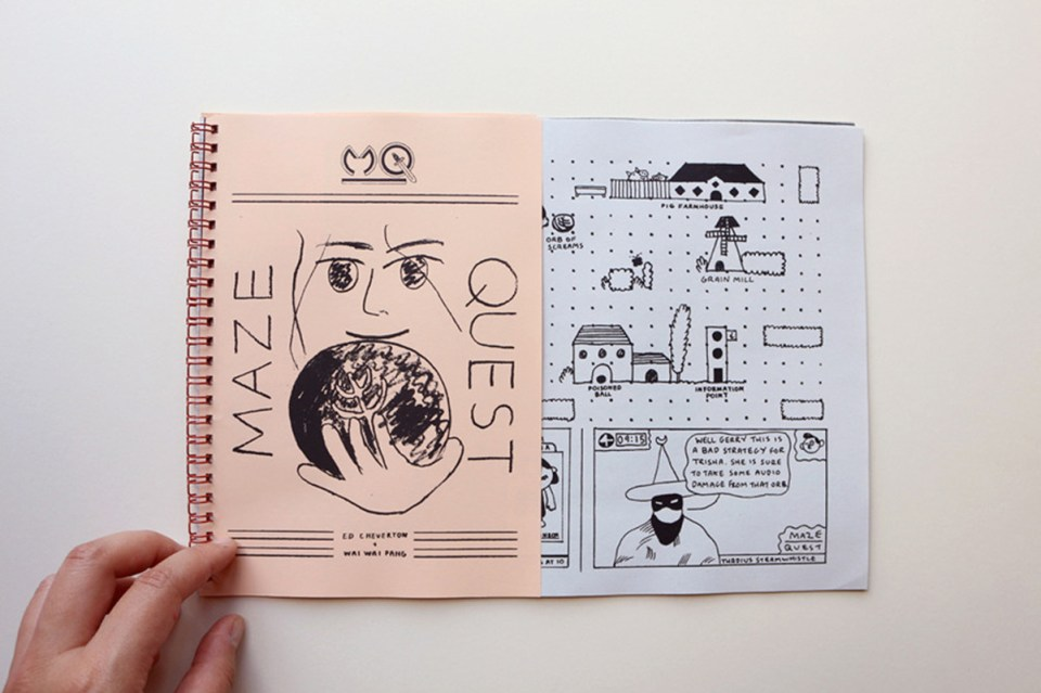 Maze Quest by Wai Wai Pang and Ed Cheverton