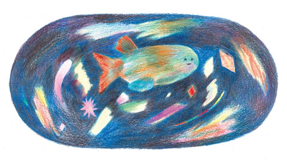 Magic Fish by Wai Wai Pang
