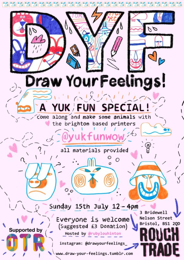 Draw your feelings: YUK FUN special