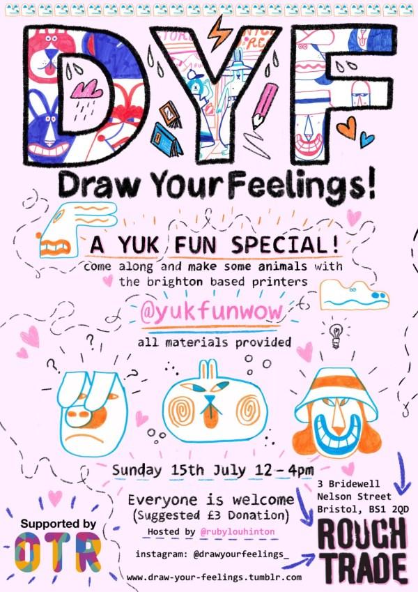 Draw your feelings: YUK FUN special