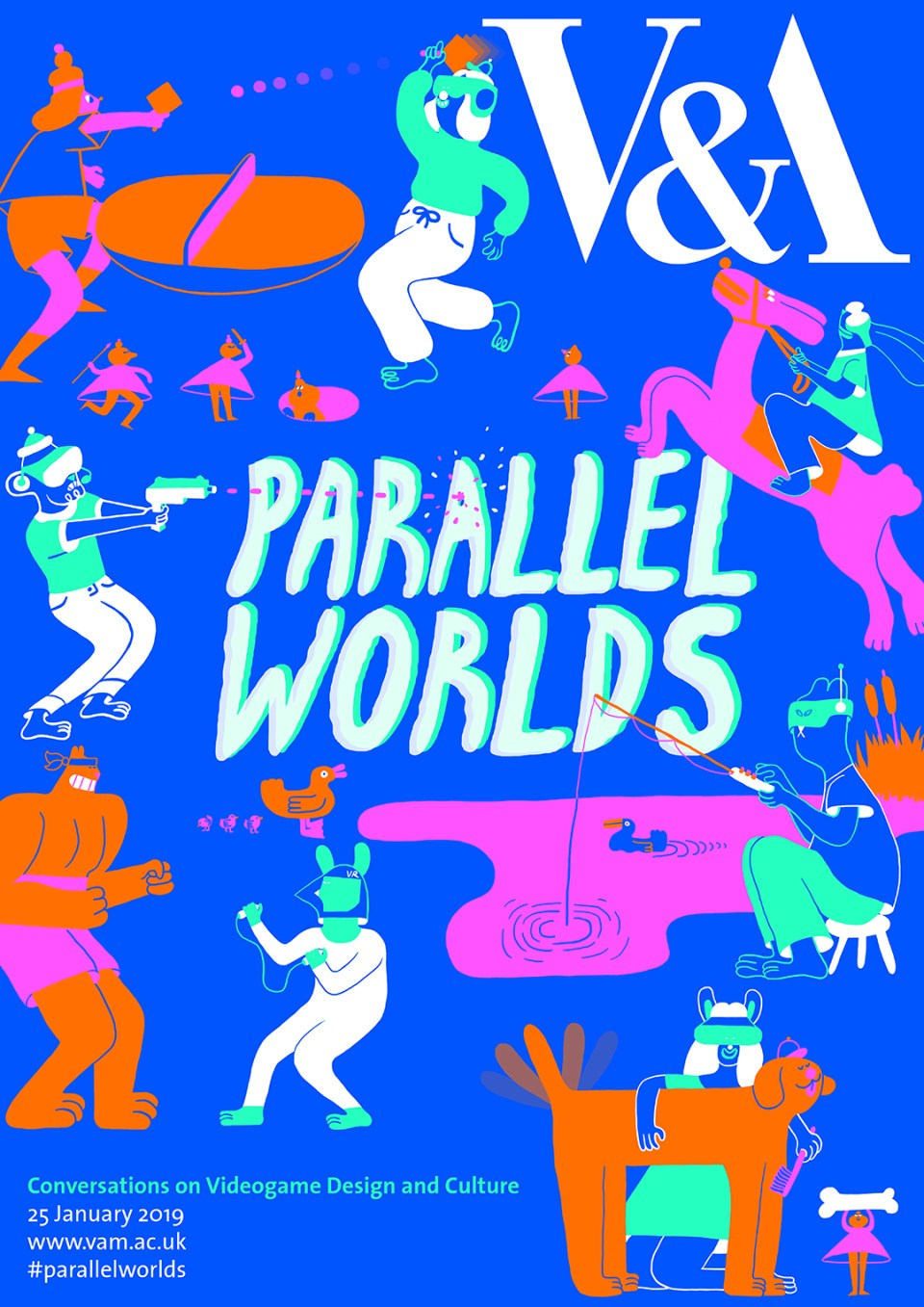 Parallel Worlds 2019 poster design by YUK FUN