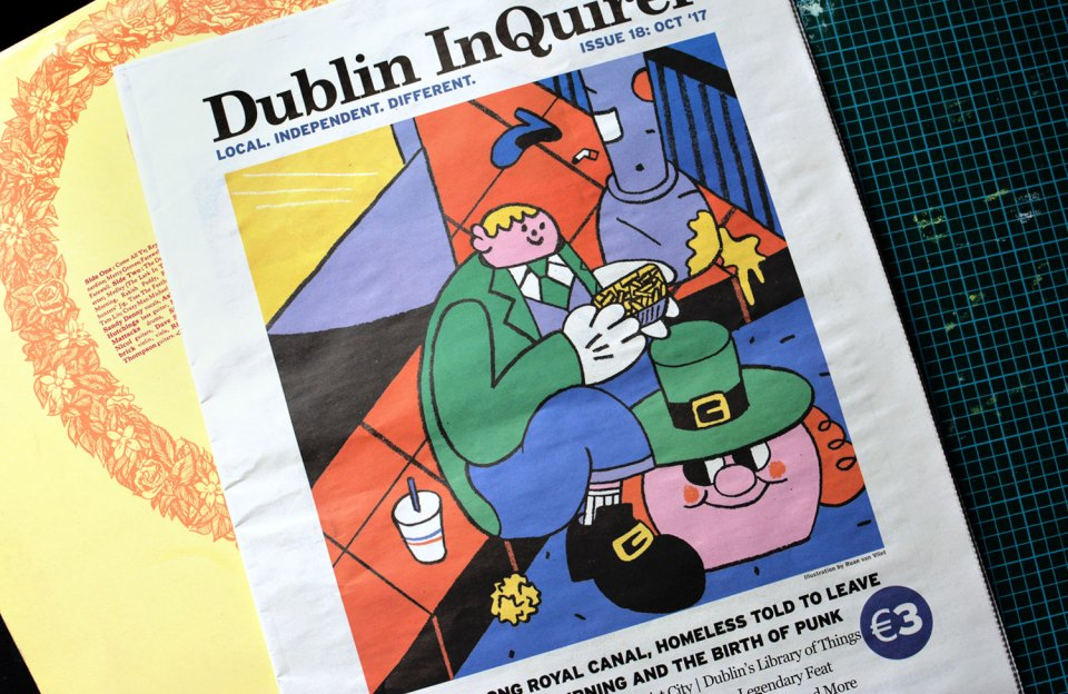 Dublin Inquirer Cover by Ruan van Vliet