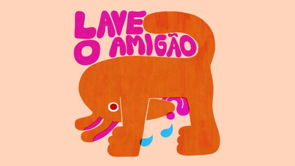Lave o amigão illustration by YUK FUN