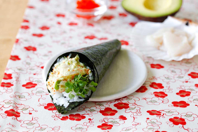 a recipe from yuki for temaki sushi